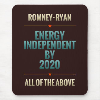 Energy Independent By 2020 Mouse Pads