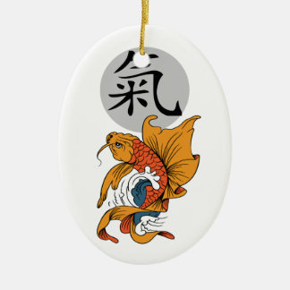 Energy Kanji Christmas Ornament