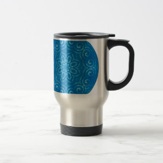 Energy Mandala - Blue Travel Mug