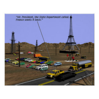 Energy Production - Oil Field Humour Poster