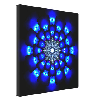 Energy Reactor Mandala Canvas Print