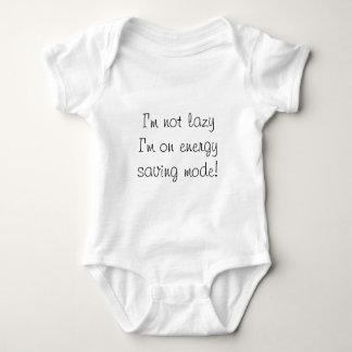 Energy saving mode baby bodysuit