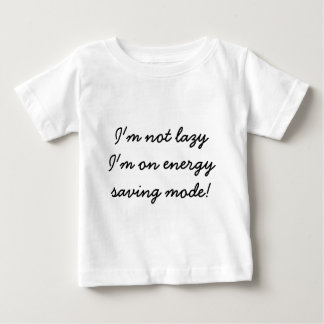 Energy saving mode baby T-Shirt