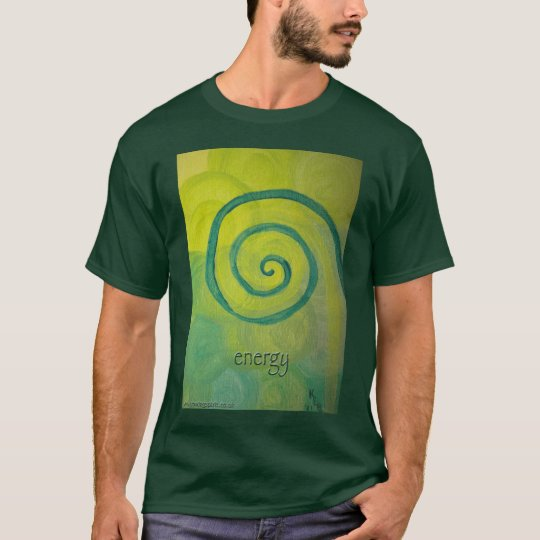 """energy"" Spirit Art T-shirt"