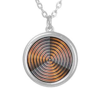 ENERGY Wheel : Golden Metal Look Pendant