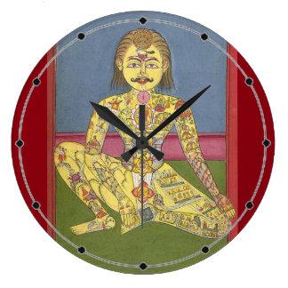 Energy Yoga clock