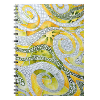 Enervated energy notebook