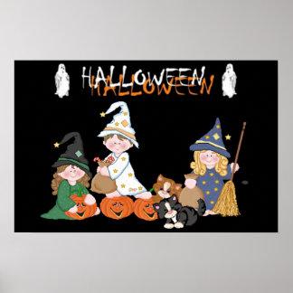 Enfants � Halloween - Posters