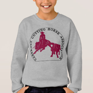 Enfants Sweat Cabernet CHA Gris Classic Rose Sweatshirt