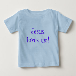 Enfants T-Shirt/Jesus Loves Me! T Shirt