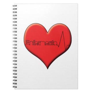 Enfermerito notebook heart