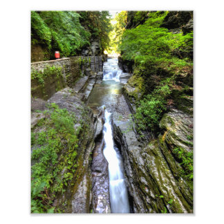 Enfield Glen, Robert Treman state park, New York Photo Print