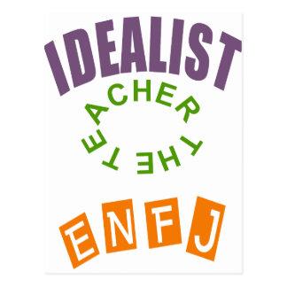 ENFJ Idealist personality type Postcard