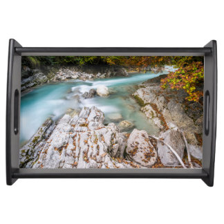 Eng valley in Karwendel range Serving Tray