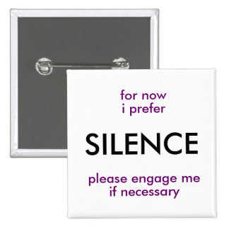 engage if necessary 15 cm square badge