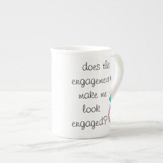 Engaged? Bone China Mug