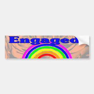 Engaged! Bumper Sticker