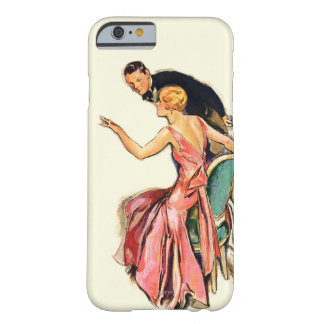 Engaged Couple Barely There iPhone 6 Case