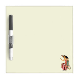 Engaged Couple Dry Erase Board