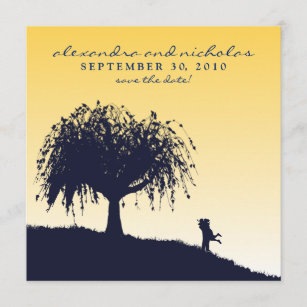 lemon tree square invitations announcements zazzle uk