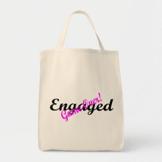 Engaged Game Over 2 Grocery Tote Bag