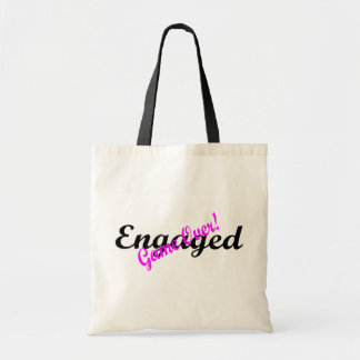 Engaged (Game Over) Canvas Bags