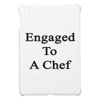 Engaged To A Chef iPad Mini Cover