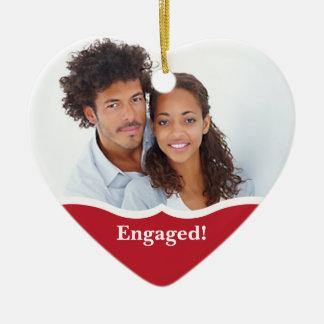 Engagement Announcement Ornament