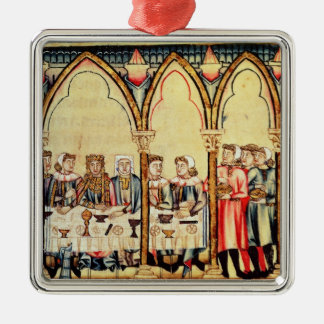 Engagement Banquet, from the manuscript Christmas Ornament