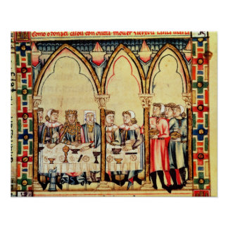 Engagement Banquet, from the manuscript Poster