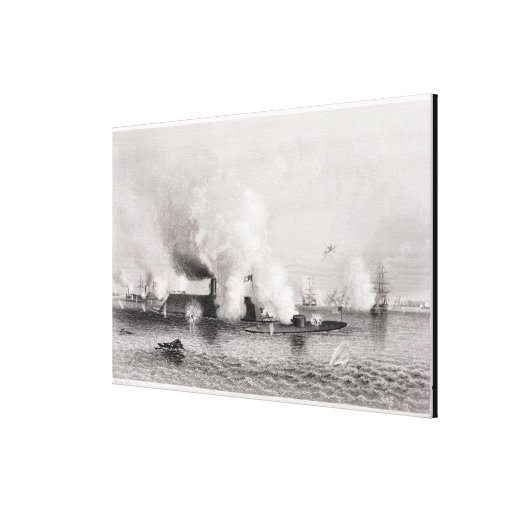 Engagement between Monitor' and the Canvas Print