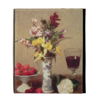 Engagement Bouquet iPad Case