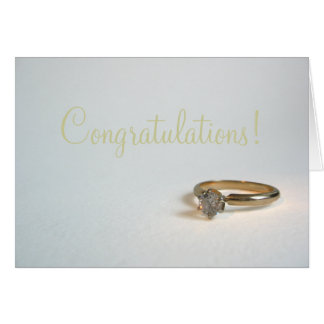 Engagement Congrats Greeting Card