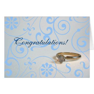 Engagement Congratulations Greeting Card