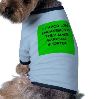 ENGAGEment Dog Tshirt