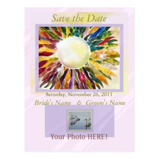 """Engagement jewelry"" Elegant Invitation Card Postcard"