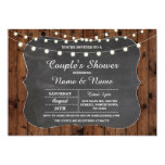 Engagement Party Couples Shower Chalkboard Invite