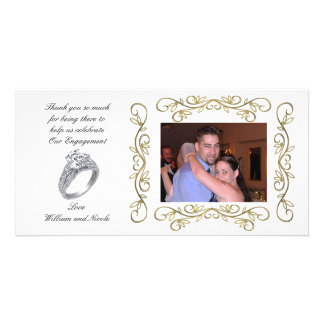 Engagement party Thank you Photo Card