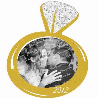 Engagement Photo ornament Photo Cut Outs