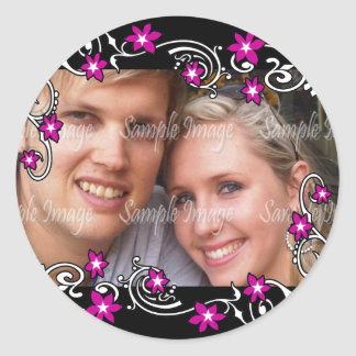 Engagement photo PERSONALIZE Stickers