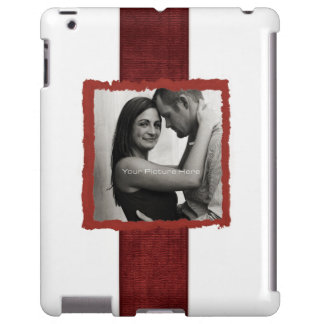 Engagement Photo Rustic Vintage Wedding iPad Case