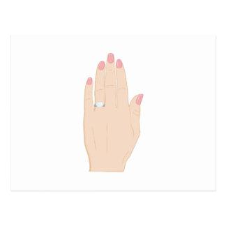 Engagement Ring Postcard