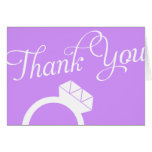 Engagement Ring Thank You Cards