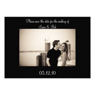 engagement save-the-date announcement