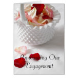 Engagement Shower Invitation Greeting Card