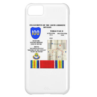 Engagements of  the 100th Airborne Division iPhone 5C Case