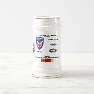 Engagements of  the 11th Airborne Division Beer Stein