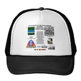 Engagements of the 80th Airborne Division Mesh Hats