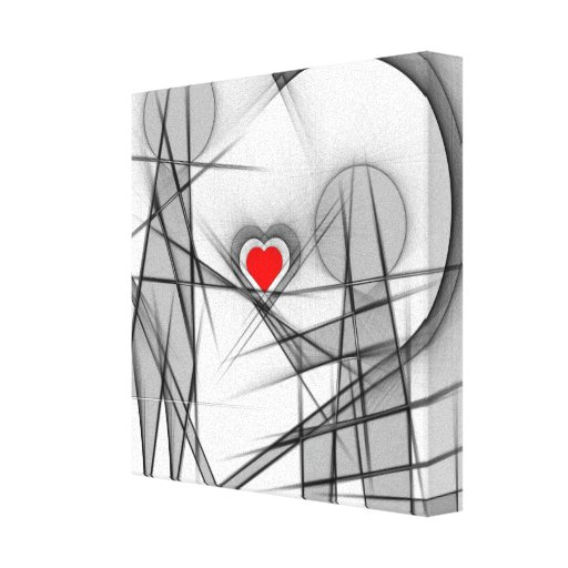 Engaging couple gallery wrapped canvas
