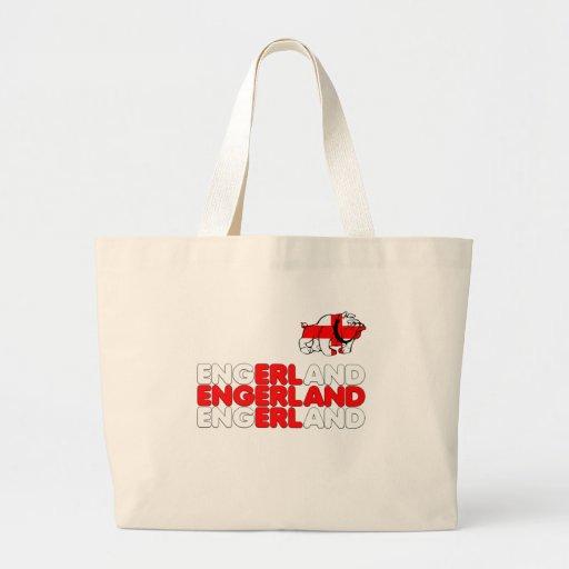 Engerland footy bag